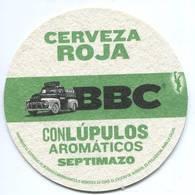 Lote 447, Colombia, Posavaso, Coaster, BBC, Cerveza Roja - Portavasos