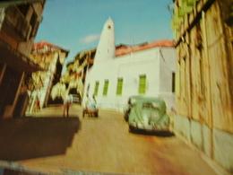 KENYA  MOMBASA - VASCO DE GAMA STREET AUTO CAR VW MAGGIOLINO  NVB1980 HI3138 - Kenia
