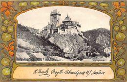 Czech Rep. - KARLSTEJN KarsteinSchloss - Art Nouveau Publ. Knackstedt & Näther 6 - Tchéquie