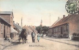 Denmark - KRISTRUP - Main Street - Publ. Unknown. - Dänemark