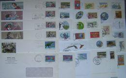 France - Lot 98 Entiers Postaux :Enveloppes Avec Visuels Timbres Différents Ou N° De Lot Différents - Prêt à Poster, PAP - Entiers Postaux