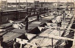 Lithuania - KAUNAS - Construction Of Warehouses (Sandeliu Statyba Kaune) - REAL PHOTO. - Litauen