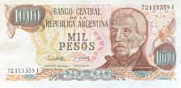 Argentina 1.000 Pesos, P-304d (1977) - UNC - Sign.variety 2 - Argentinien