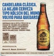 Lote 413, Colombia, Posavaso, Coaster, BBC, Candelaria Clasica - Portavasos
