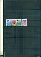 AUSTRALIA REALISATIONS TECHOLOGIQUES 4 VAL NEUFS A PARTIR DE 0.75 EUROS - 1980-89 Elizabeth II
