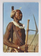 Swaziland (Un Siècle Après Livingstone) - Guerrier - Carte Pub Plasmarine - Swaziland Warior South Africa - Swasiland