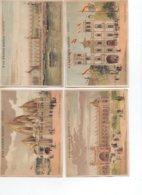 49 ANGERS A La Grande Maison LOT De 4 Chromos Sur L'Exposition Universelle De 1900 - Angers
