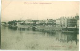 Chalon Sur Saone - Quai Gambetta - Chalon Sur Saone
