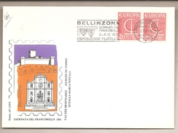 Svizzera - Busta Con Annullo Speciale: Giornata Del Francobollo - 1983 - Suisse