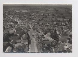En Avion Au Dessus De ... CERILLY [03] Allier - La Rue Principale - Belle Vue Du Village - Francia