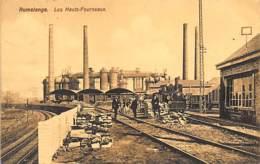 RUMELANGE - Les Hauts-Fourneaux - Ed. Arendt 8. - Postales