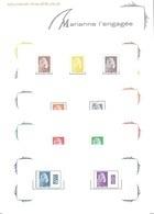 France - Feuillet Bloc Souvenir N° 145 ** Marianne De L'Engagé - Blocs Souvenir