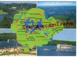 23 - VASSIVIERE - LAC ARTIFICIEL - CENTRE ART CONTEMPORAIN- PLAGE DE VAUVEIX- CREUSE  HAUTE VIENNE - Frankrijk