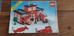 Istruzioni Lego 6385 Stazione Pompieri 1981 Originale Epoca - Plans