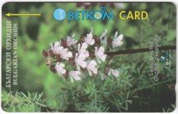 BULGARIA A-703 Magnetic Betkom - Plant, Flower - 39BULE - Used - Bulgarie
