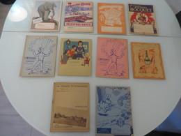 1 Lot D'environ 10 Protege Cahier Voir La Photo - Collections, Lots & Séries
