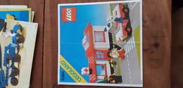 Istruzioni Lego 6364 1980 Infermeria Originale Epoca - Plans