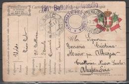 ITALIA 1917 - Cartolina Postale In Franchigia - 1900-44 Vittorio Emanuele III