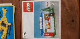 Istruzioni Lego 675 1979 Snack Bar Originale Epoca - Plans