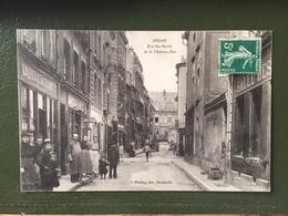SEDAN-Rue  Ste Barbe Et Le Château Bas - Sedan