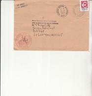 H 4 - Enveloppe  SP 69002  Cachet BPM N° 507  Tribunal Des Armées - Marcofilie (Brieven)