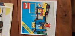 Istruzioni Lego 6363 Officina 1980 Originale Epoca - Plans