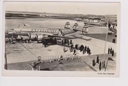 Vintage Pc KLM K.L.M Royal Dutch Airlines Lockheed Constellation L-049 @ Schiphol Amsterdam Airport Version C - 1919-1938: Entre Guerres