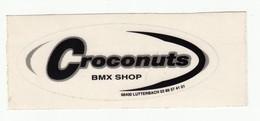 Autocollant -  BMX SHOP  CROCONUTS - LUTTERBACH HAUT RHIN 68 - Autocollants