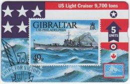 GIBRALTAR A-072 Hologram GNC - Collection, Stamp - 608L - MINT - Gibraltar