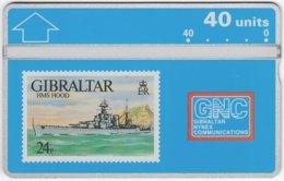 GIBRALTAR A-074 Hologram GNC - Collection, Stamp - 306A - MINT - Gibraltar