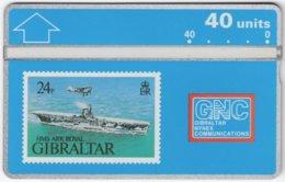 GIBRALTAR A-075 Hologram GNC - Collection, Stamp - 306A - MINT - Gibraltar