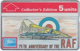 GIBRALTAR A-083 Hologram GNC - Anniversary, Military, Airforce - 308A - MINT - Gibraltar