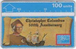 GIBRALTAR A-088 Hologram GNC - Anniversary, Discovery Of America - 207A - Used - Gibraltar