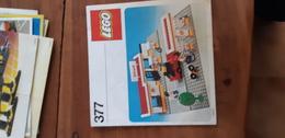Istruzioni Lego 377 Stazione Shell Originale Epoca - Plans