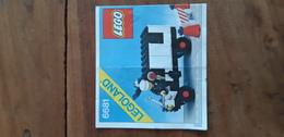 Istruzioni Lego 6681 Veicolo 1981 Originale Epoca - Plans