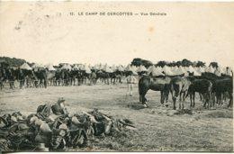 CPA -  CAMP DE CERCOTTES - VUE GENERALE - France