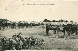CPA -  CAMP DE CERCOTTES - VUE GENERALE - Francia