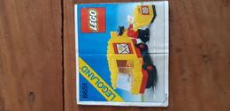 Istruzioni Lego 6651 Veicolo Poste 1982 Originale Epoca - Plans