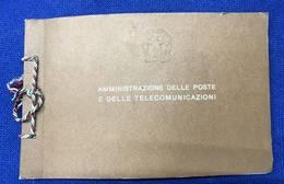 1973 Libretto Francobolli Emessi Amministrazione Postale Italiana - Completo Nuovo (come Da Scansione) - 1946-.. République