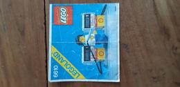 Istruzioni Lego 6610 Stazione Servizio 1981 Originale Epoca - Plans