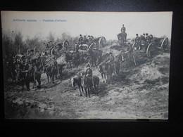 72-MILITARIA -artillerie Montee - Canon -cachet Brasschaet Polygone- **ENVOI GRATIS VERZENDING FREE SHIPPING** - Militari