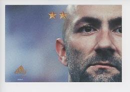 """Fabien Barthez """"On N'a Qu'une Seule Chose En Tête"""" Juin 2002 - Cp Vierge (Adidas) - Soccer"""