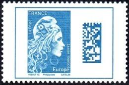 France N° 5257 ** Marianne L'Engagée. Datamatrix, Europe - Neufs