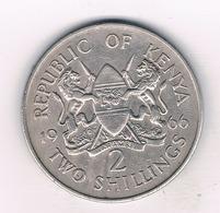 2 SHILLINGS 1966 KENIA /69/ - Kenia