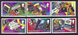 Guernsey, Yv 751/6, Moyens De Communications ** - Guernesey