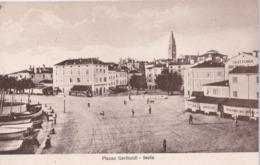 7012 - Isola D'Istria - PIAZZA GARIBALDI - Slowenien
