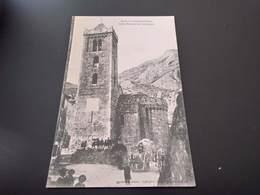 CPA (65) Environs D'Amélie Les Bains.Eglise Romaine De Coustouges..(H1743). - Francia