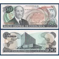 BILLET COSTA RICA 100 COLONES - Costa Rica