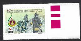 Italia, Italy, Italien, Italie 2019; 80° Del Corpo Nazionale Dei Vigili Del Fuoco, Firefighters, Les Pompiers, Feuerwehr - Pompieri