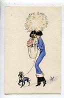 Chapeau Plume  Illustrateur Femme - Sager, Xavier